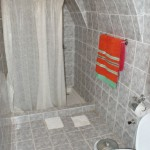 Another bathroom--with a cheap, quality Ralph Lauren towel from the Nevsehir market!