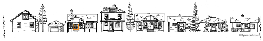 4500 Block Gladstone, south